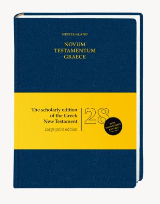 Novum Testamentum Graece, 28., revidierte Auflage - Großdruckausgabe