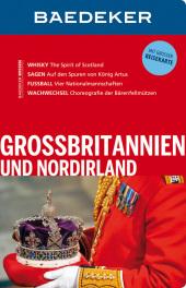 Baedeker Großbritannien und Nordirland, m. Reisekarte Cover