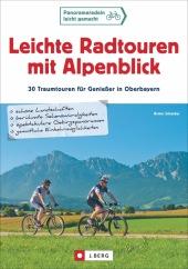 Leichte Radtouren mit Alpenblick Cover