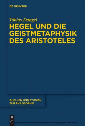 Hegel und die Geistmetaphysik des Aristoteles