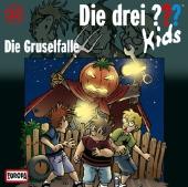 Die drei ???-Kids, Die Gruselfalle, 1 Audio-CD Cover