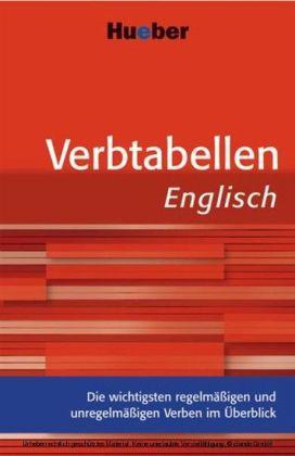 Verbtabellen Englisch
