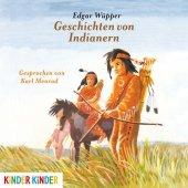Geschichten von Indianern, 1 Audio-CD Cover