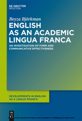 English as an Academic Lingua Franca