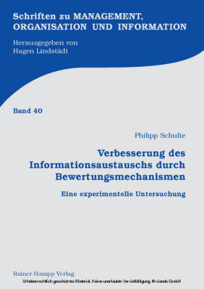 Verbesserung des Informationsaustauschs durch Bewertungsmechanismen