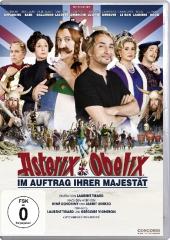Asterix & Obelix: Im Auftrag Ihrer Majestät, 1 DVD Cover