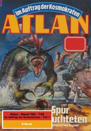 Atlan-Paket 15: Im Auftrag der Kosmokraten (Teil 1)