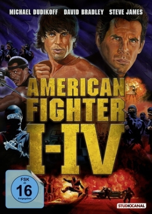 American Fighter 1-4, 4 DVDs