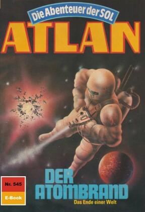 Atlan 545: Der Atombrand