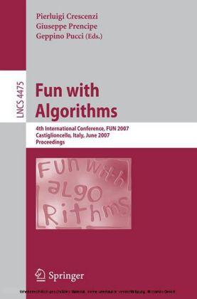 Fun with Algorithms