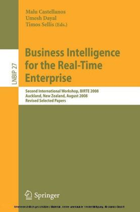 Business Intelligence for the Real-Time Enterprise