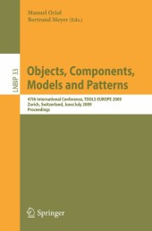 Objects, Components, Models and Patterns