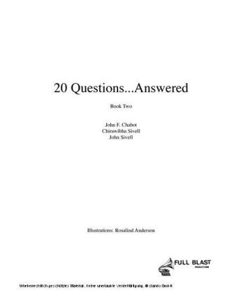 20 Questions...Answered Book 2