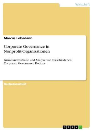 Corporate Governance in Nonprofit-Organisationen
