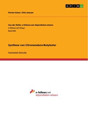 Synthese von Citronensäure-Butylester