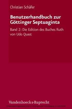 Benutzerhandbuch zur Göttinger Septuaginta