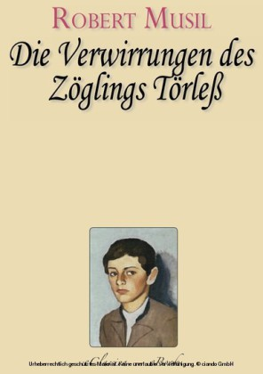 Robert Musil - Die Verwirrungen des Zöglings Törleß