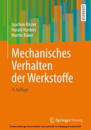 Mechanisches Verhalten der Werkstoffe