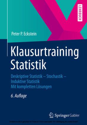 Klausurtraining Statistik