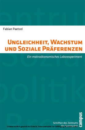Ungleichheit, Wachstum und Soziale Präferenzen