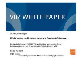 Möglichkeiten zur Monetarisierung von Facebook-Präsenzen