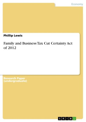 Family and Business Tax Cut Certainty Act of 2012