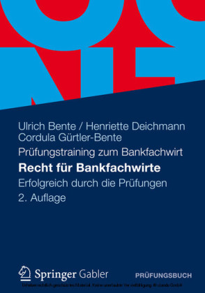 Recht für Bankfachwirte