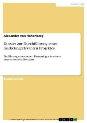 Dossier zur Durchführung eines marketingrelevanten Projektes