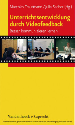 Unterrichtsentwicklung durch Videofeedback