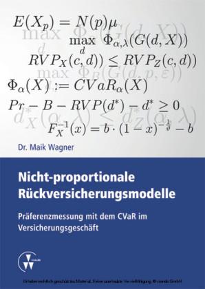 Nicht-proportionale Rückversicherungsmodelle