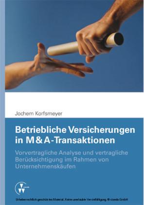 Betriebliche Versicherungen in M & A-Transaktionen