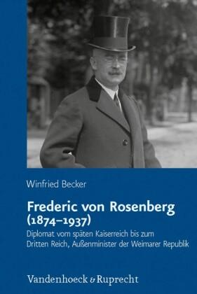 Frederic von Rosenberg (1874-1937)