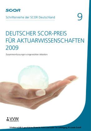 Deutscher SCOR-Preis für Aktuarwissenschaften 2009