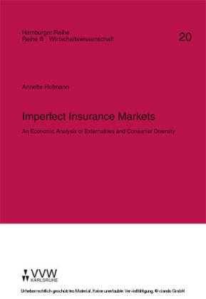 Imperfect Insurance Markets