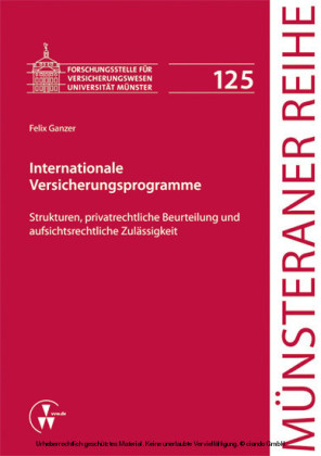 Internationale Versicherungsprogramme