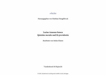 Seneca, Epistulae morales