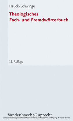 Theologisches Fach- und Fremdwörterbuch