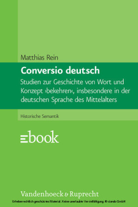 Conversio deutsch