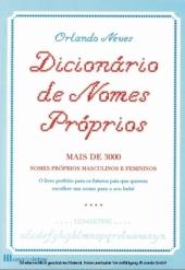 Dicionário de nomes próprios