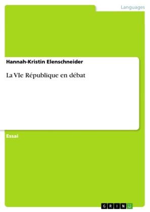 La VIe République en débat