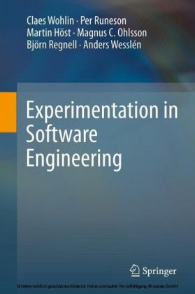 Experimentation in Software Engineering