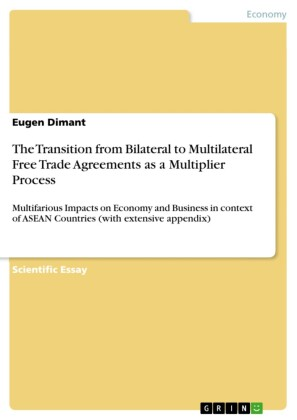 The Transition from Bilateral to Multilateral Free Trade Agreements as a Multiplier Process