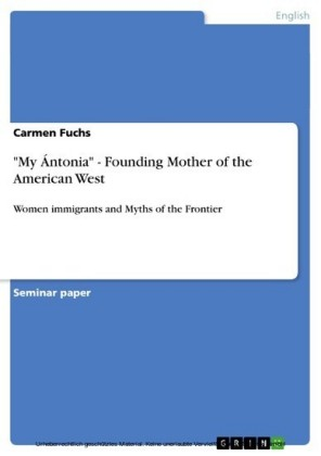 'My Ántonia' - Founding Mother of the American West