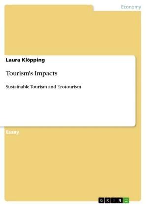 Tourism's Impacts