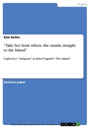 'Take her from where she stands, straight to the Island'