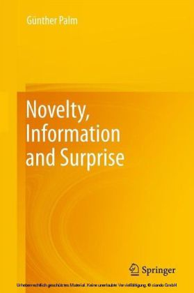 Novelty, Information and Surprise