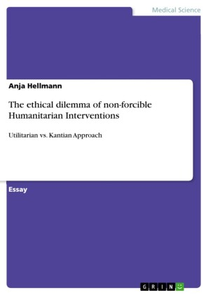 The ethical dilemma of non-forcible Humanitarian Interventions