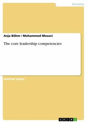 The core leadership competencies