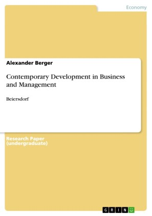 Contemporary Development in Business and Management