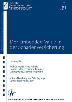 Der Embedded Value in der Schadenversicherung